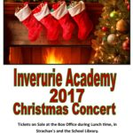 Christmas concert poster 2017